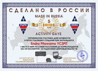 Final results of Activity Days «Made in Russia» 2019