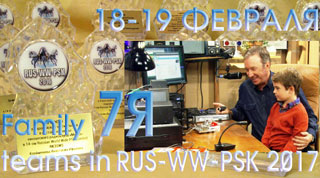 Family teams in RUS-WW-PSK 2017