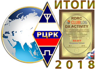 Final results RDRC CLUBLOG DX Activity 2018